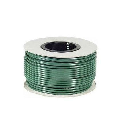 Câble coaxial vidéo KX6 vert bobine de 100 mètres