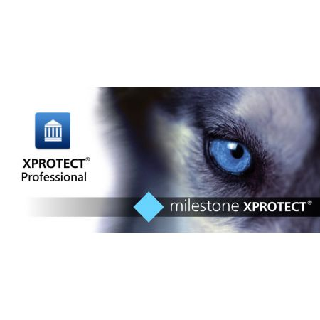 Milestone Xprotect Professionnal base License