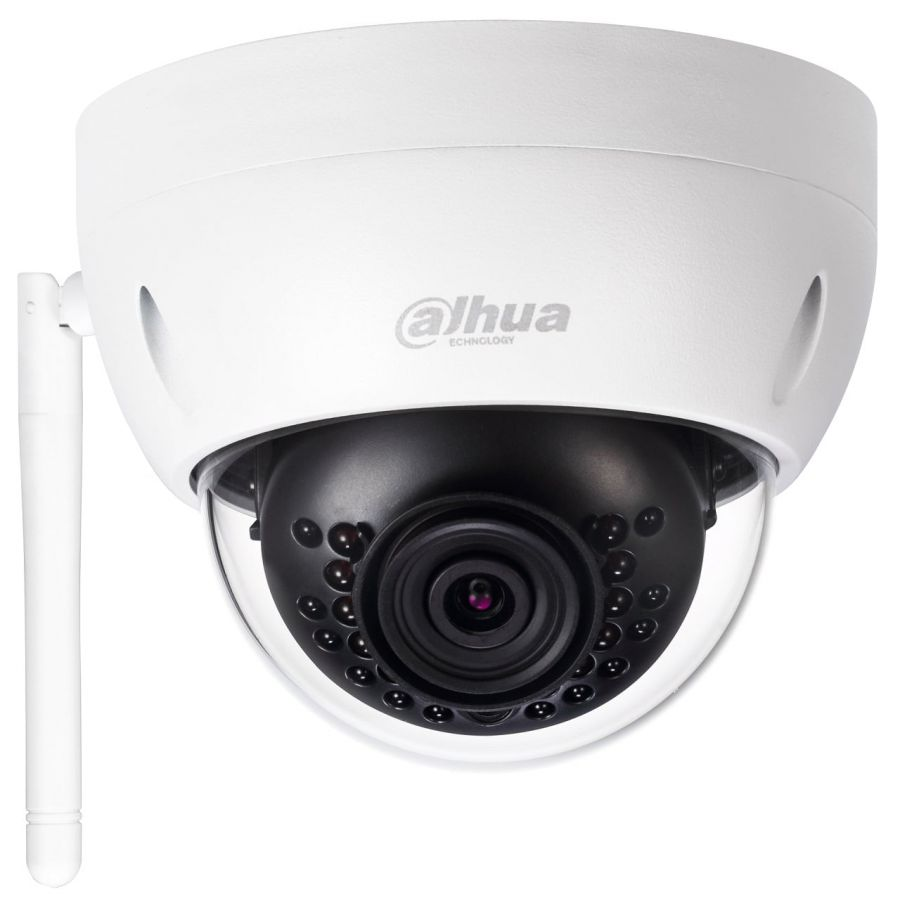 kit video surveillance dahua wifi 2 cameras dome ip. Black Bedroom Furniture Sets. Home Design Ideas