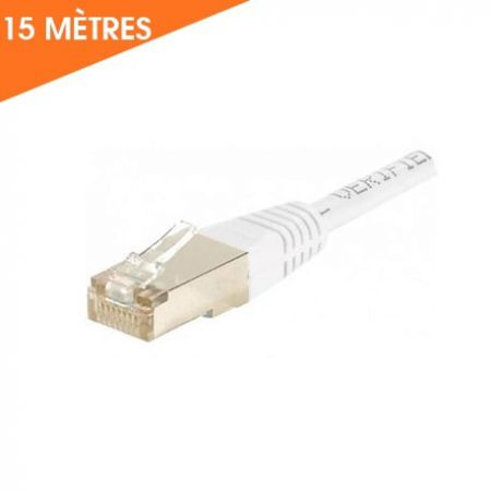 CÂBLE ETHERNET RJ45 CAT 6 15 M