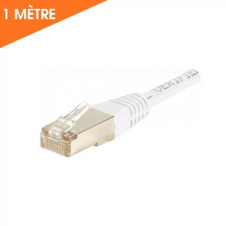 CÂBLE ETHERNET RJ45 CAT 6 1 M