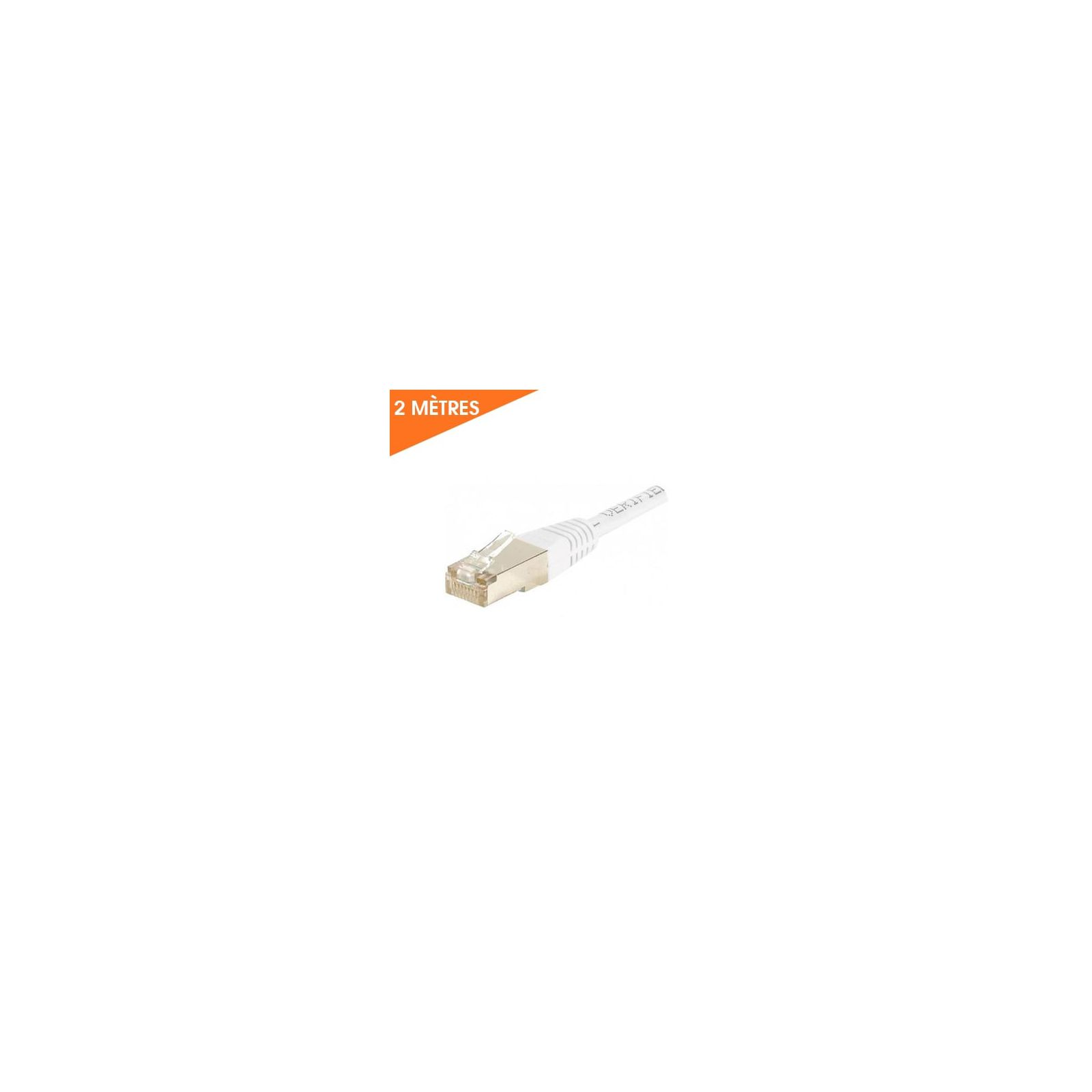 CÂBLE ETHERNET RJ45 CAT 6 2M