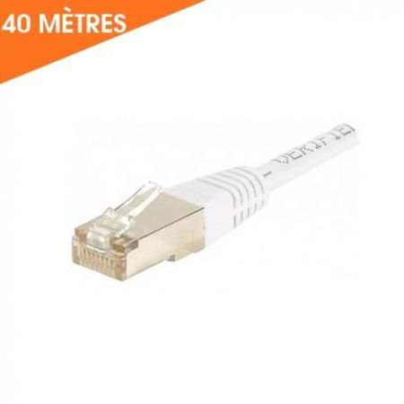 Câble ethernet 40 M