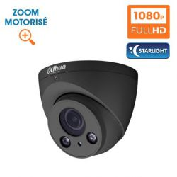 KIT VIDEOSURVEILLANCE DAHUA 32 CAMERAS DOME HDCVI 1080 P DARK GREY OPTIQUE MOTORISE