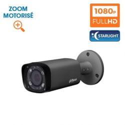 KIT VIDEOSURVEILLANCE DAHUA 32 CAMERAS TUBE HDCVI 1080 P DARK GREY OPTIQUE MOTORISEE STARLIGHT