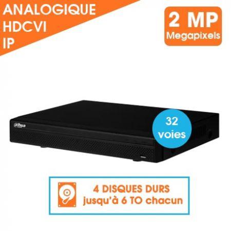 ENREGISTREUR DAHUA 32 VOIES 720P HDCVI