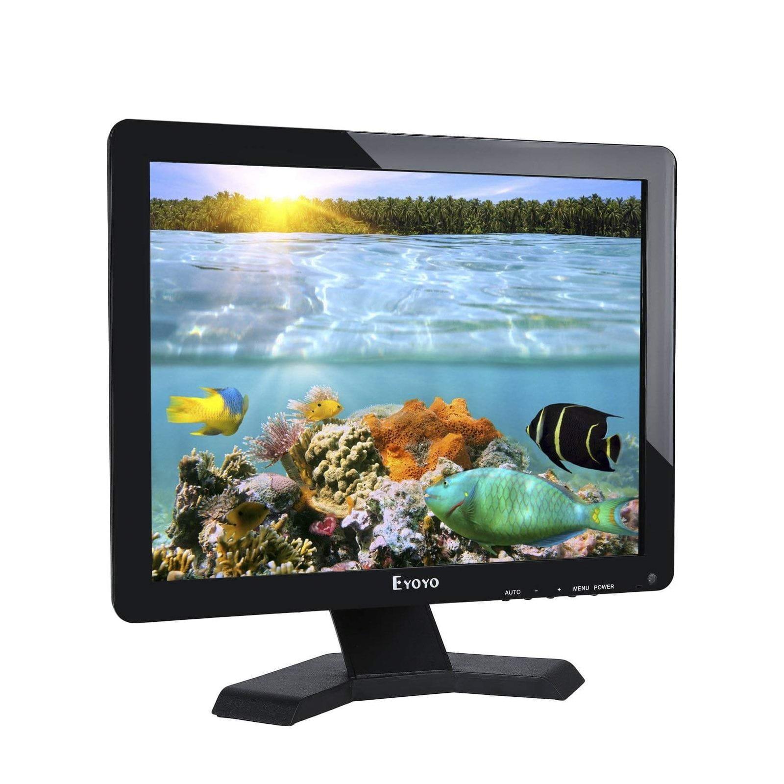 ECRAN BNC 17 POUCES AVEC HDMI VGA 1080P