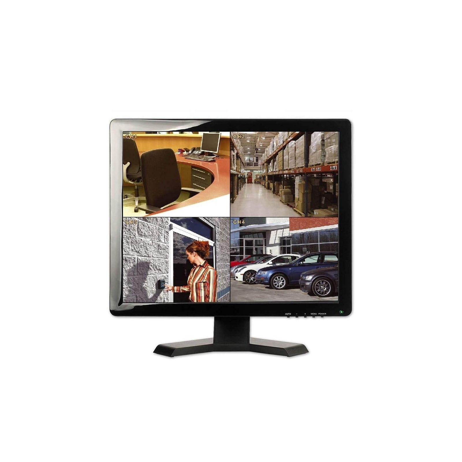 ECRAN BNC 19 POUCES AVEC HDMI VGA 1080P