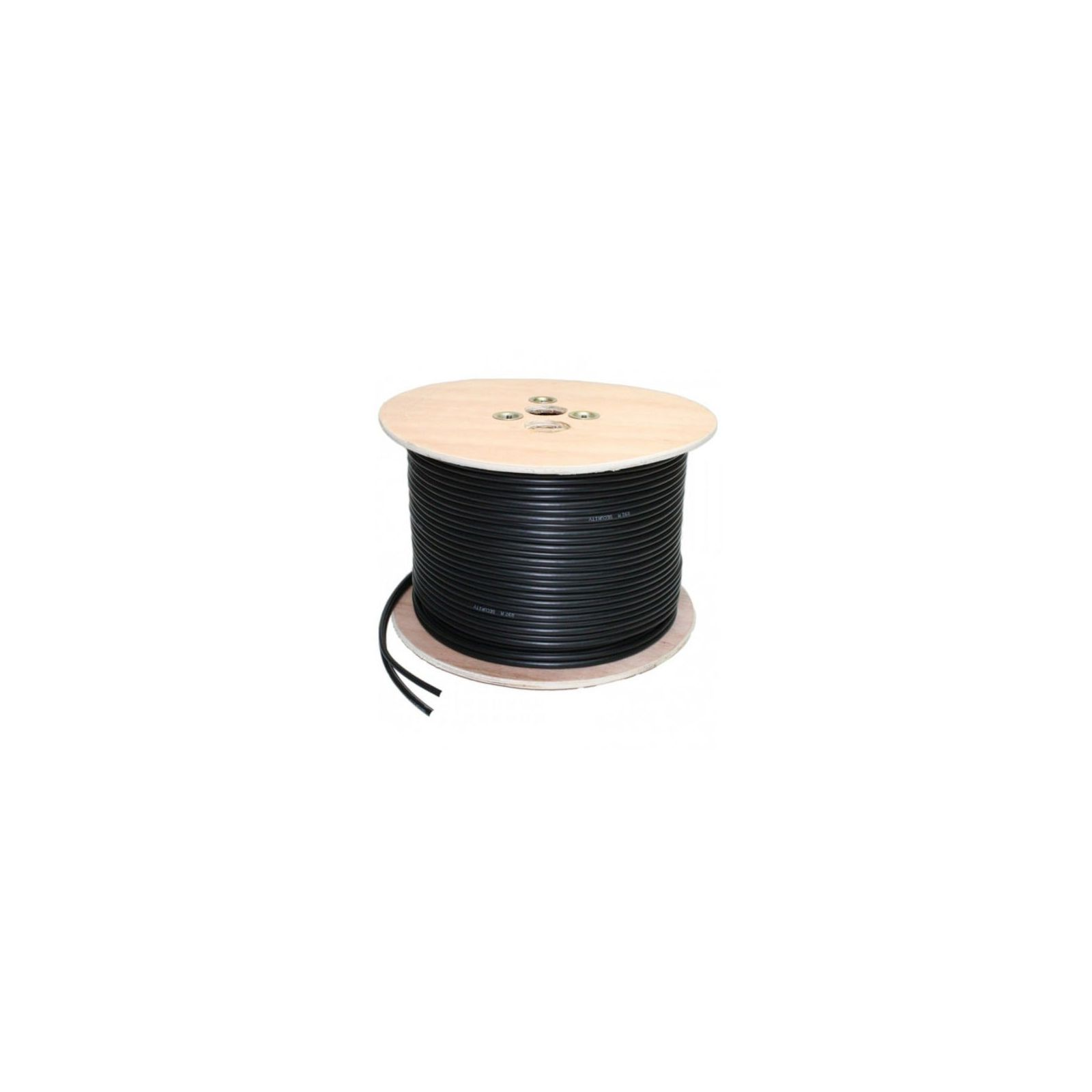 CABLE COAXIAL VIDEO BNC RG59 + ALIMENTATION NON SERTI 100 M