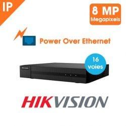 KIT VIDEOSURVEILLANCE HIKVISION HIWATCH 16 CAMERAS TUBE IP PoE 2 MP