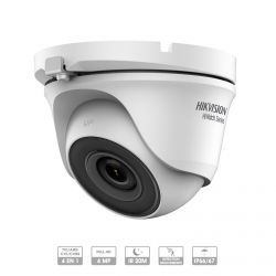 CAMERA HIKVISION HIWATCH HDTVI DOME FIXE 4 MP