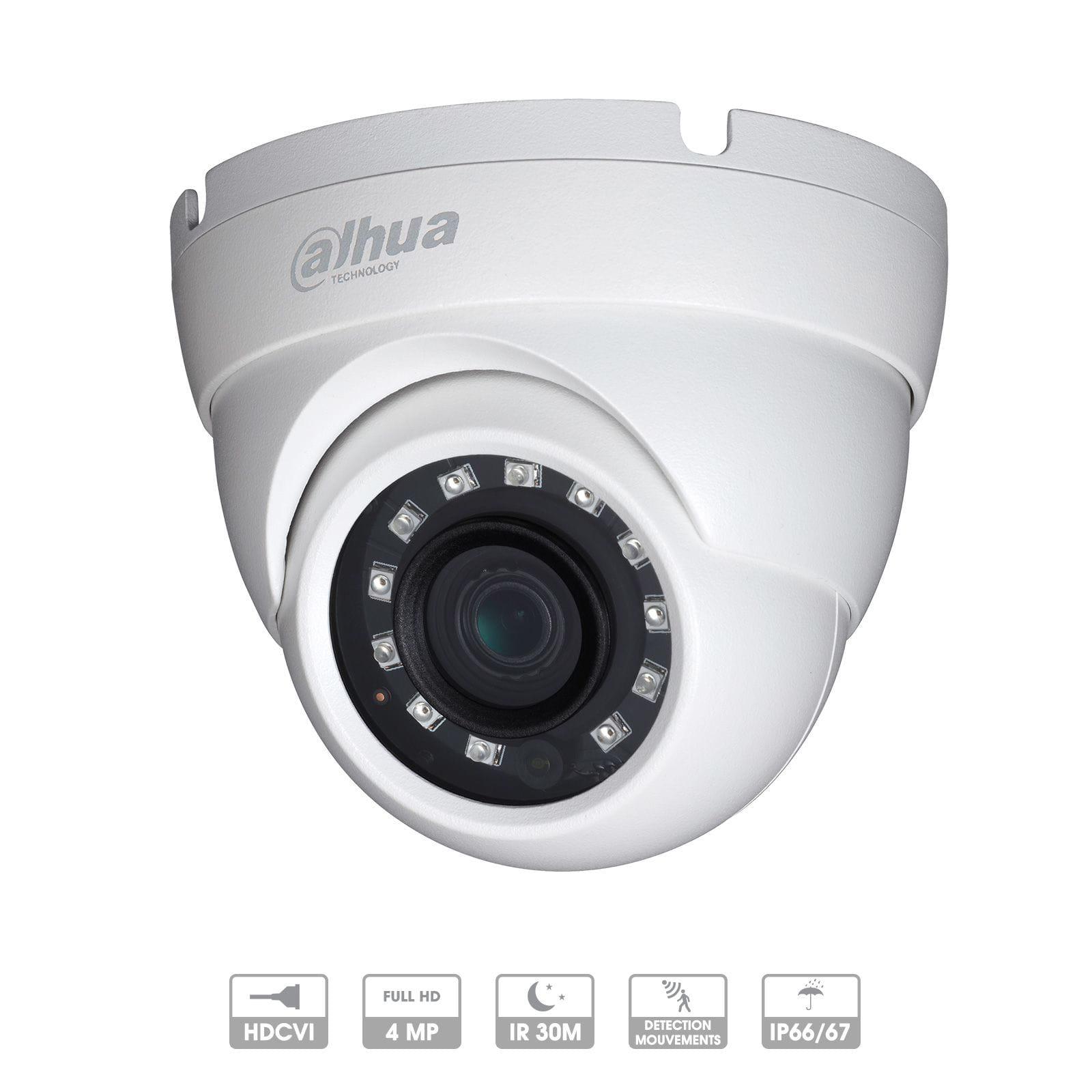 Caméra Vidéo DAHUA DOME 4MP HDCVI WDR IR Haute définition