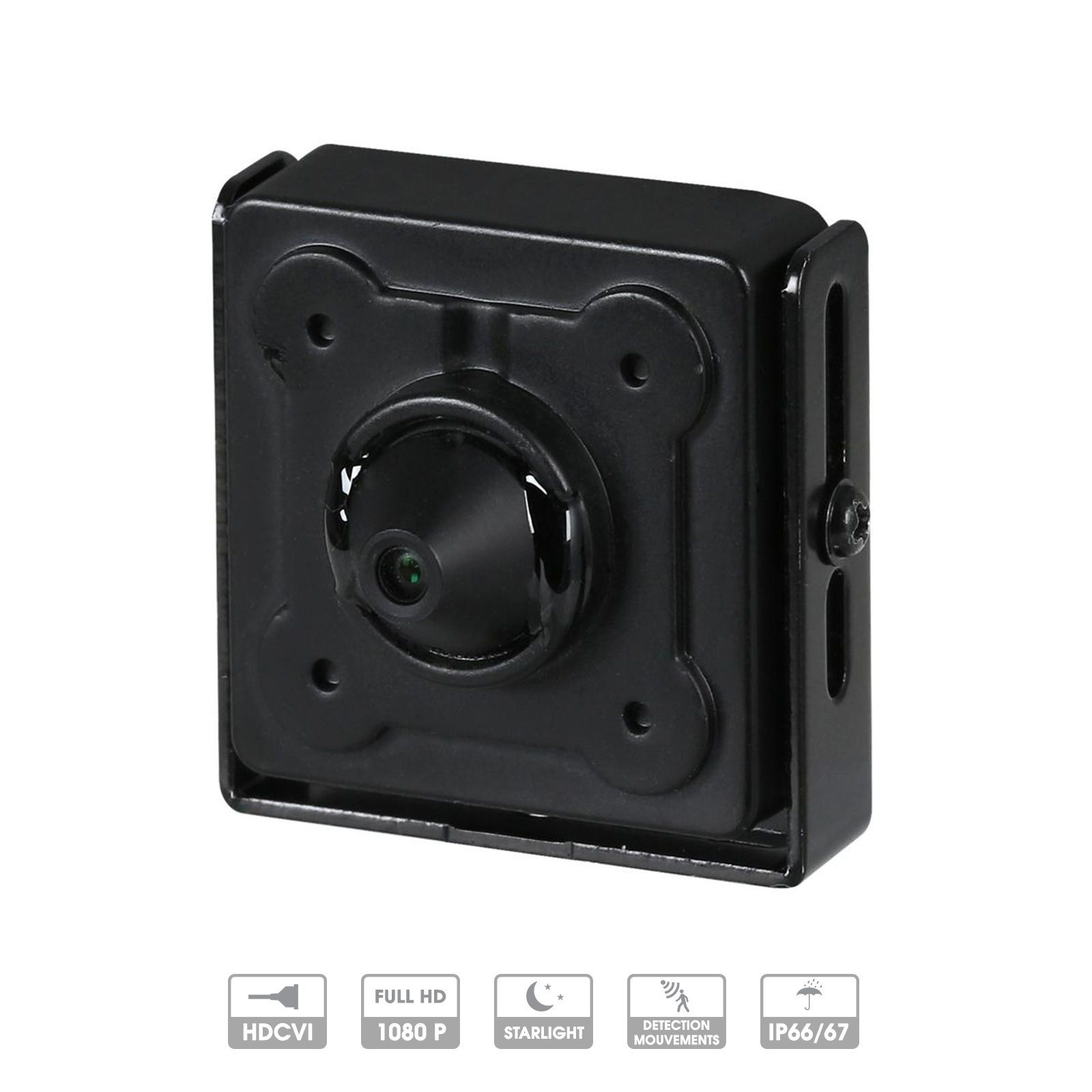 Caméra Dahua 2 MP HDCVI miniature pinhole