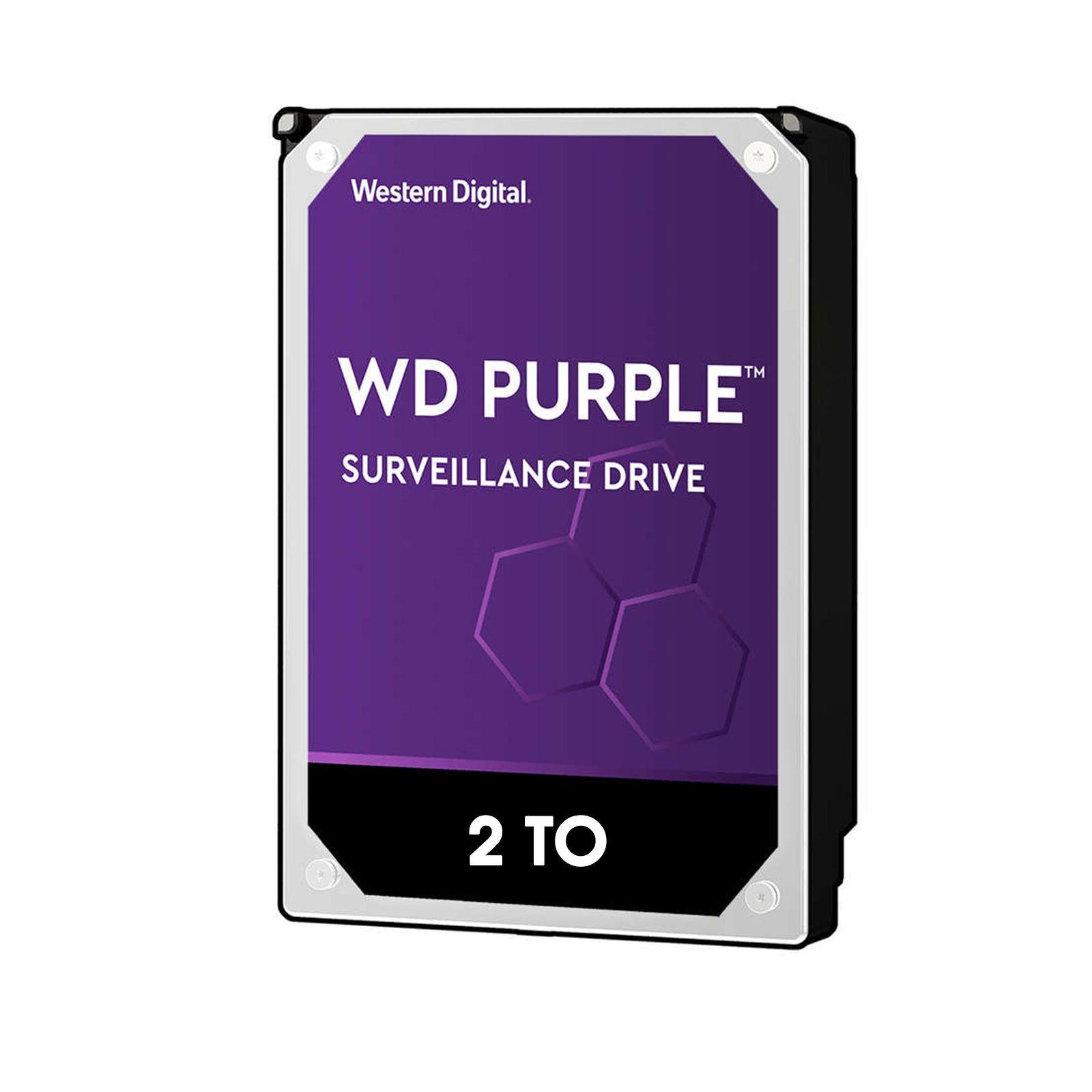Disque dur de vidéosurveillance de 2 To 3,5 pouces supporte 5 disques durs