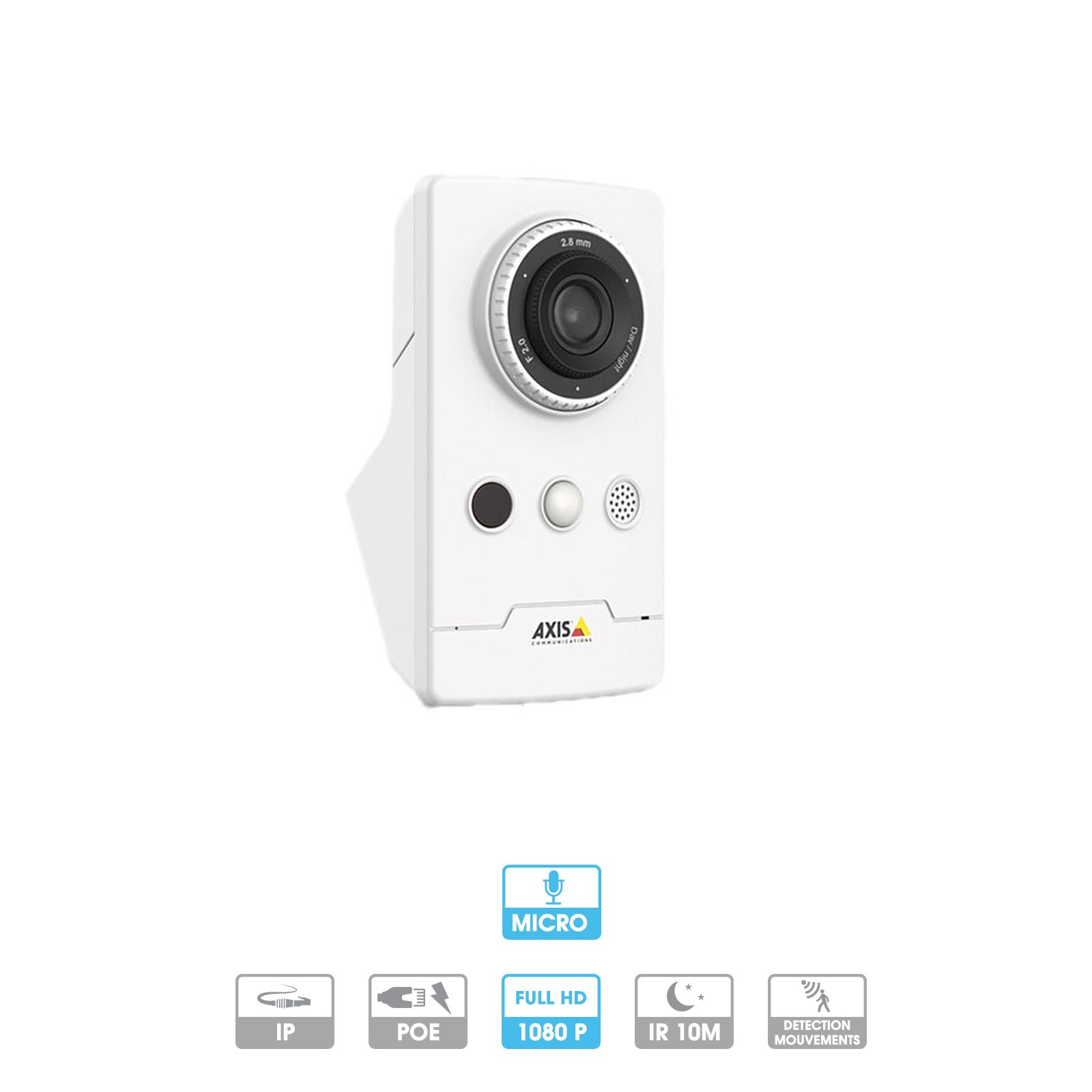 Caméra Axis Companion | Cube L | 1080 P | Microphone