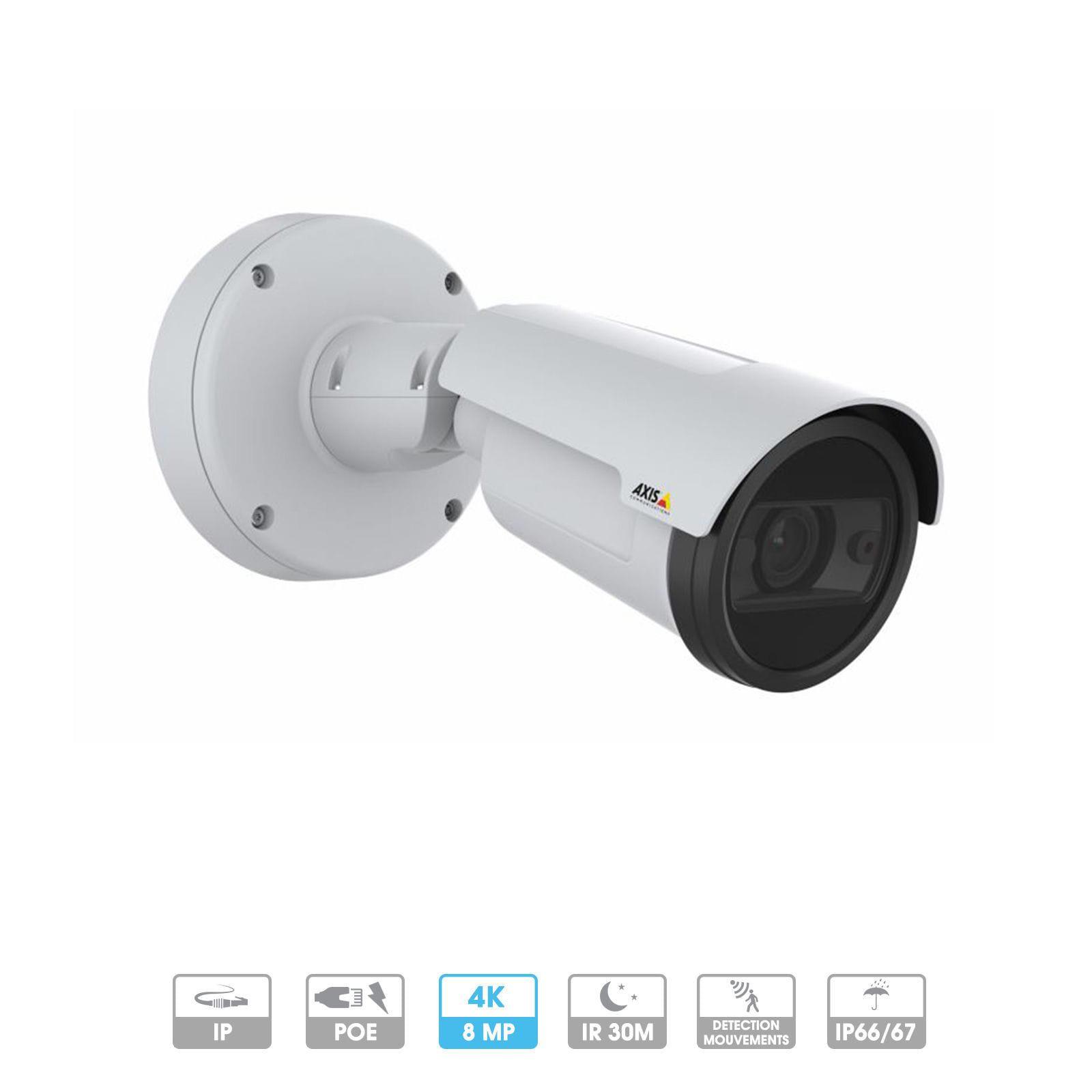 Caméra Axis Network | P1448-LE | 8 MP 4K | PoE