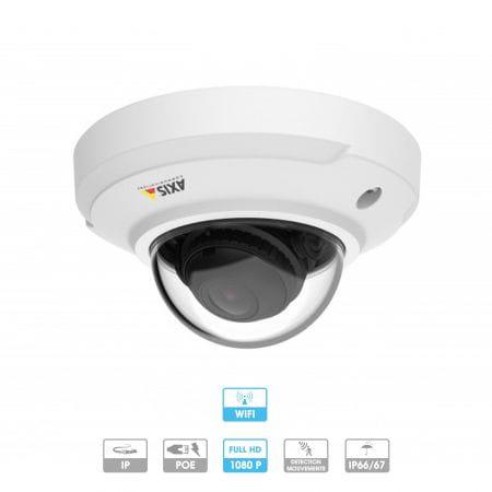 Caméra Axis Companion | Dôme-WV | 1080P | Anti-vandale |Wifi