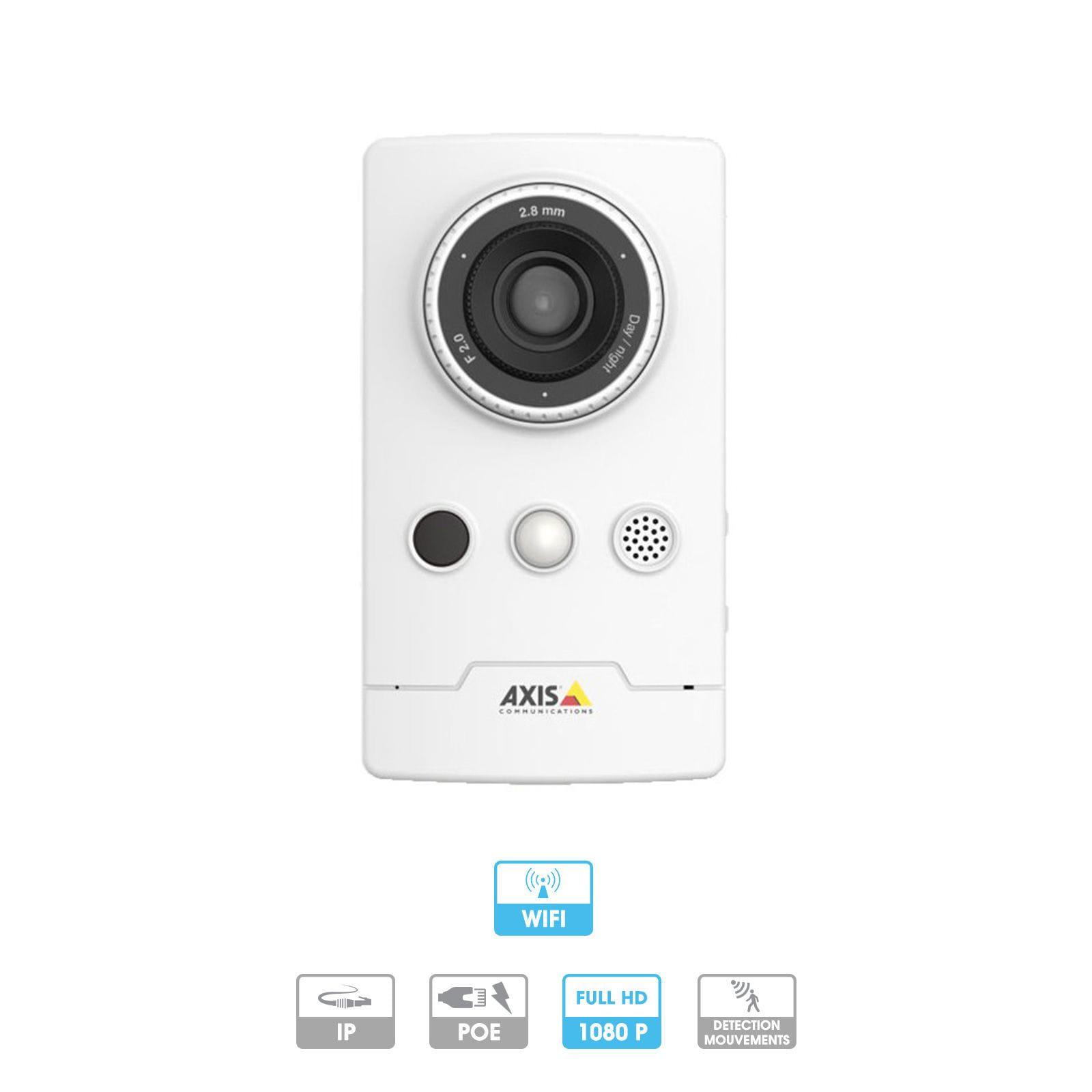 Caméra Axis Companion | Cube LW| 1080 P | Microphone | Wifi