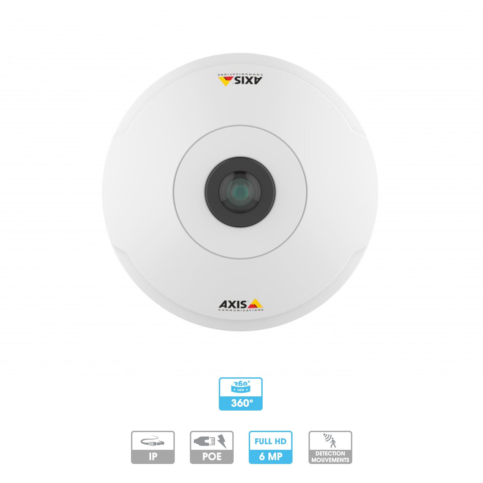Caméra Axis Companion | 360° fisheye| 6 MP