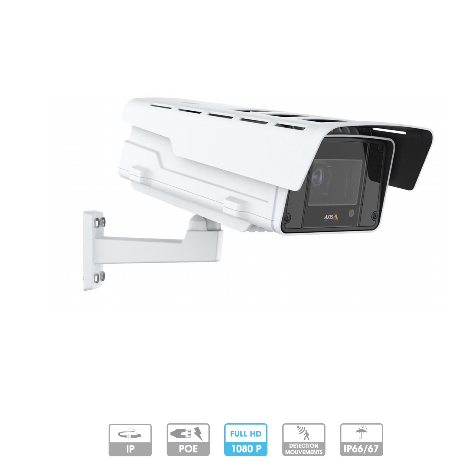 Caméra Axis Network   Q1645-LE   Tube   2 MP   PoE   100/120 IPS
