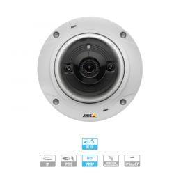 Caméra Axis   M3024-LVE   1 MP   Anti-vandale   IP