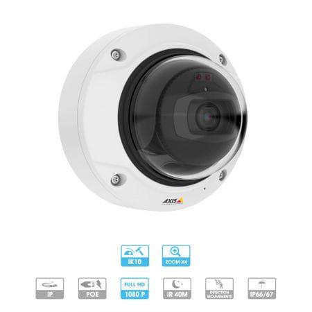 Caméra Axis Network | Q3515-LV | 1080 P | Antivandalisme | IP | Intérieur