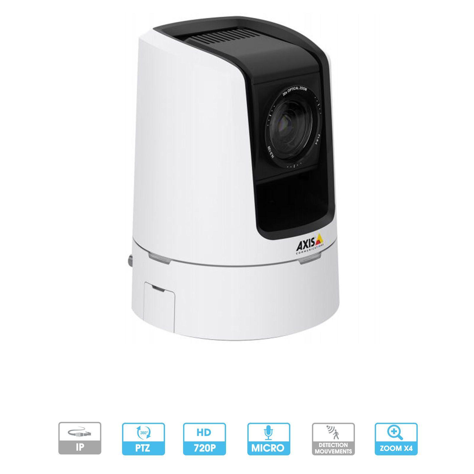 Caméra Axis Network | V5914 | 720 P | PTZ | IP | Intérieur | Spécial vidéoconférence