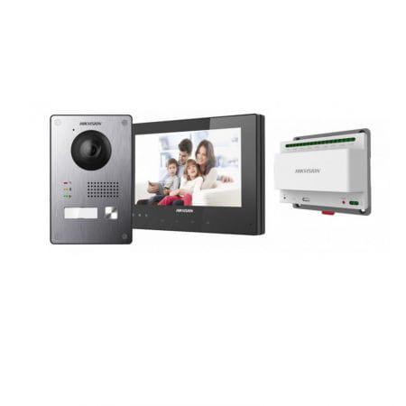Kit interphonie | Hikvision| Caméra | Contrôle en Wifi
