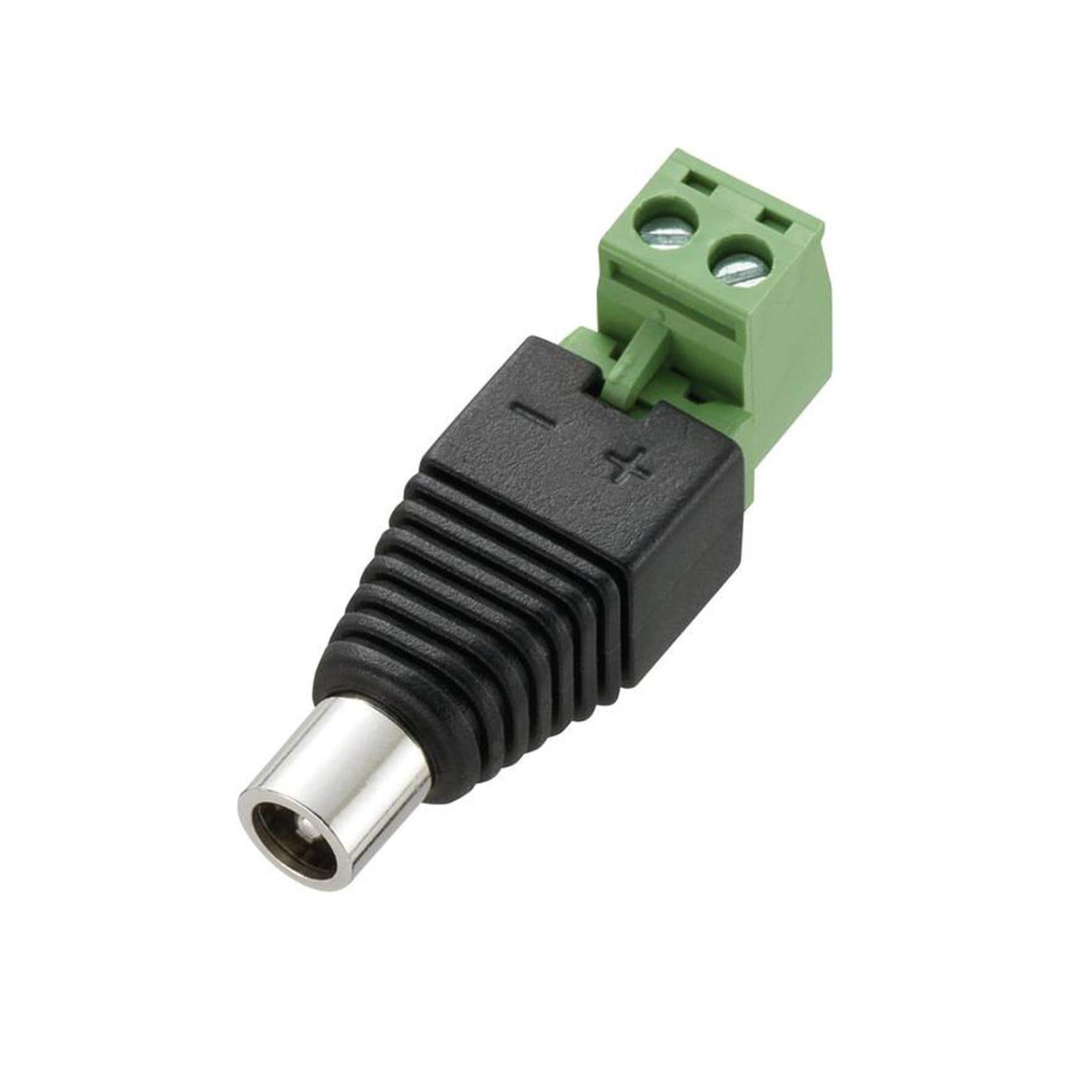 Connecteur électrique | Jack femelle | Angle droit | À visser