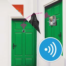 Judas connecté Ezviz DP1 | Wifi | Intérieur | 720 P | Micro et haut parleur