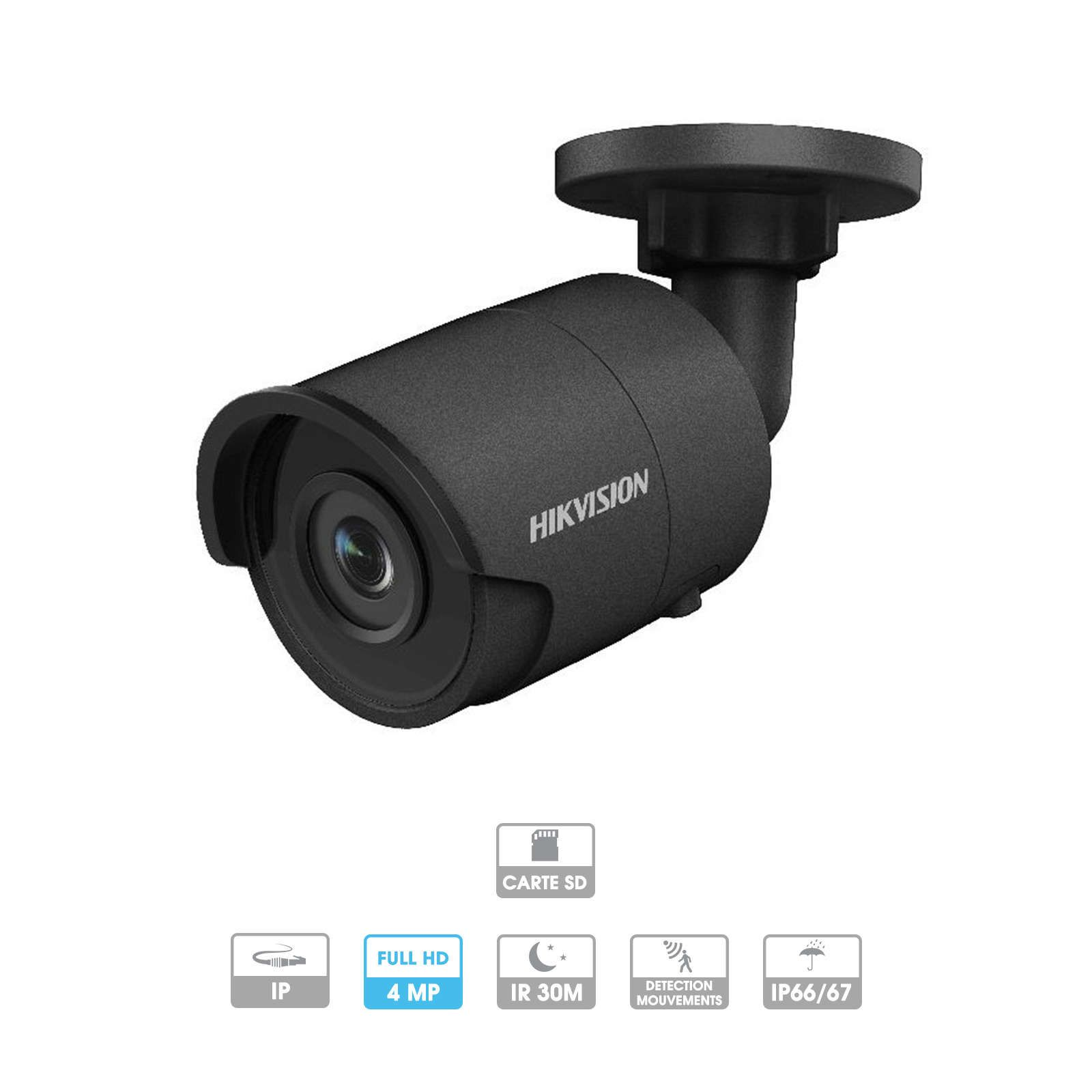 Caméra Hikvision Hiwatch | Tube | 4 MP | IP PoE