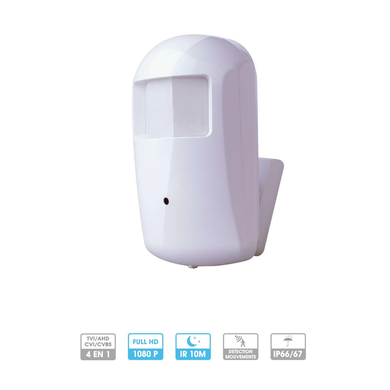 Caméra Provision | Caméra camouflée détecteur mouvement | 2 MP | HDCVI / HDTVI | Objectif fixe | Vision nocturne 10 mètres