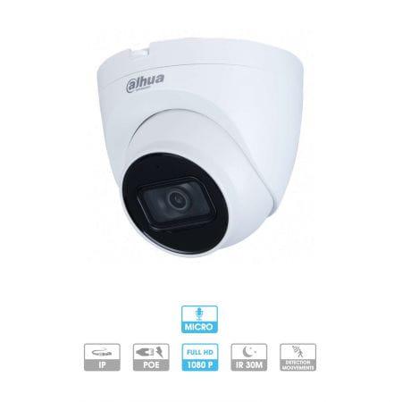 Caméra Dahua | Dôme | 2 MP | IP PoE