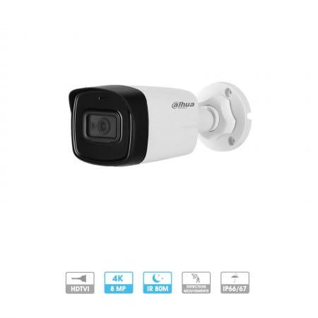 Caméra Dahua | Tube | 8 MP (4K) | HDCVI