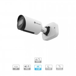 Caméra mini-tube Milesight | 4K | IP PoE | Antivandalisme