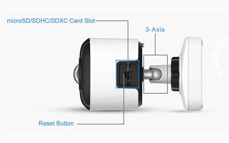 design camera panoramique