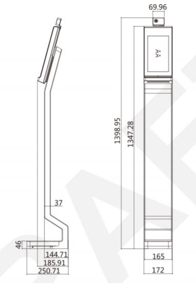 dimensions_DS-K5604A-3XF/V