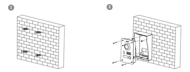 installation_boitier_acier_interphonie_hikvision