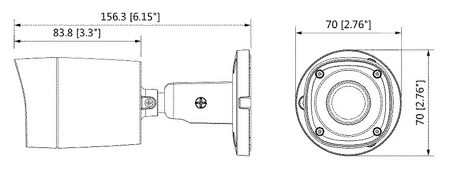 schema dahua tube 1mp