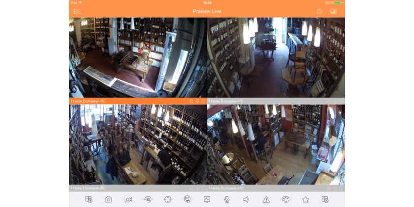INSTALLATION VIDEO SURVEILLANCE BAR A VIN 11eme DOMAINE