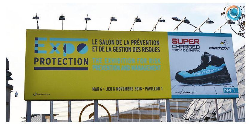 Notre visite au salon Expo protection !