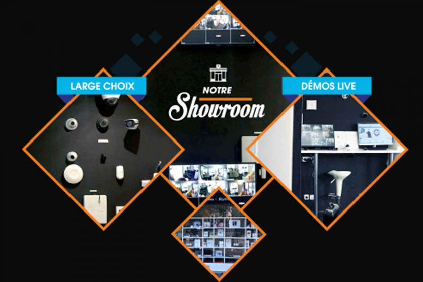 Camera-videosurveillance #1 Le showroom