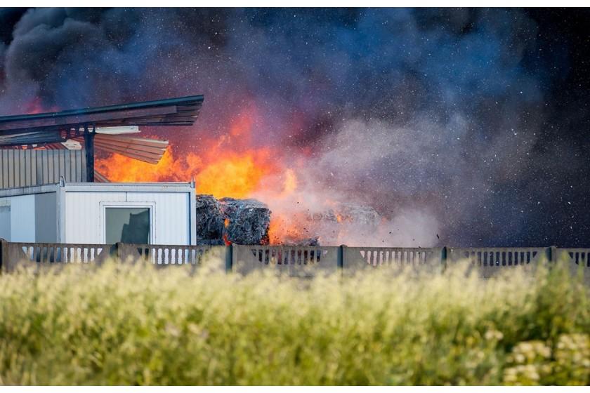La technologie d'Hikvision pour prémunir des feux de déchets
