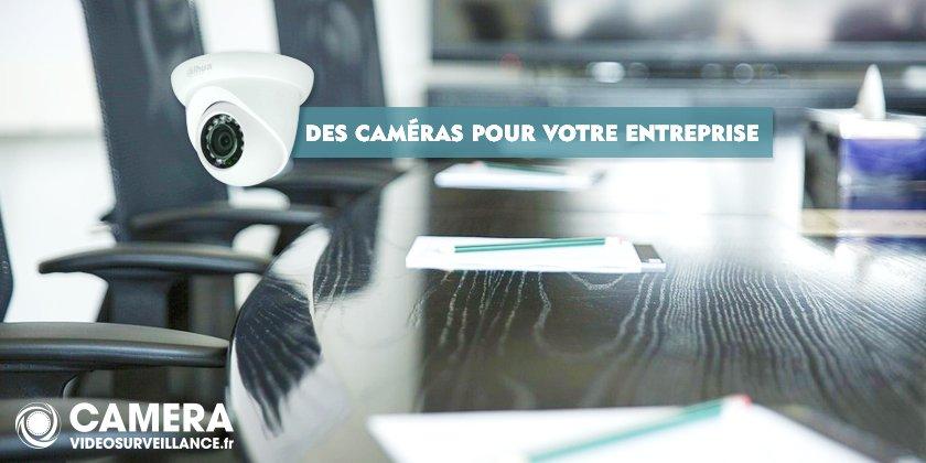 Installer des caméras pour votre entreprise